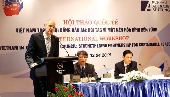 Việt Nam tham gia HĐBA: Đối tác vì một nền hoà bình bền vững