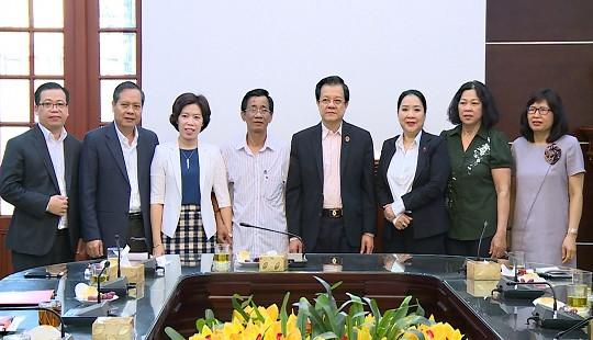 Phó Chánh án TANDTC Lê Hồng Quang gặp gỡ các cán bộ nghỉ hưu năm 2019
