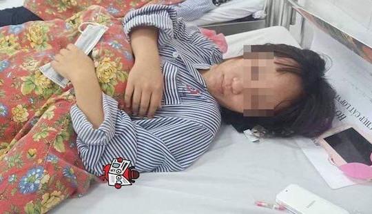 Bị bạn đánh hội đồng, 2 nữ sinh ở Quảng Ninh nhập viện cấp cứu