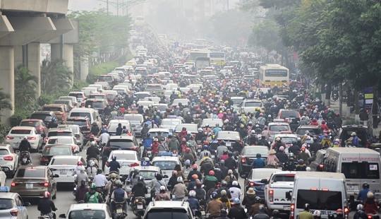 Cấm xe máy chưa phải là ý kiến chính thức của UBND TP. Hà Nội