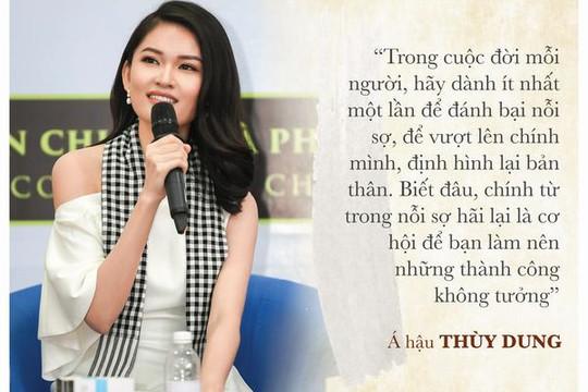 Những câu nói truyền cảm hứng nhất của hoa hậu, á hậu Việt Nam
