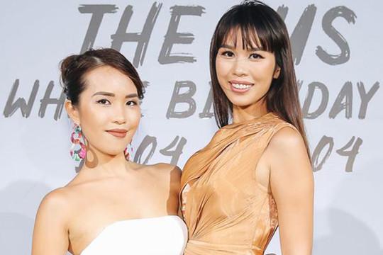 Sinh nhật xa xỉ như sao Hollywood của chị em nhà Siêu mẫu Hà Anh