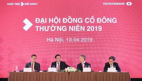 Techcombank công bố kế hoạch vượt trội với lợi nhuận trước thuế dự kiến 11.750 tỷ VNĐ