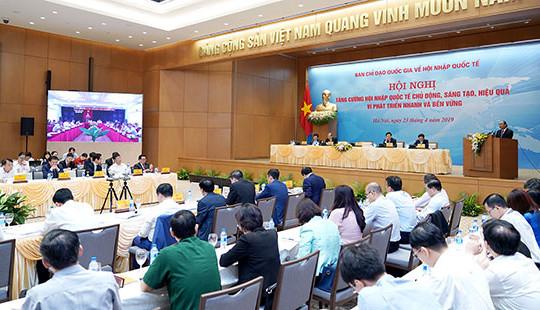 Thủ tướng đặt ra 6 nhiệm vụ trọng tâm trong hội nhập quốc tế