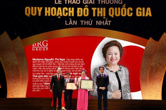 Tập đoàn BRG vinh dự nhận hàng loạt giải thưởng Đồ án quy hoạch đô thị quốc gia 2018