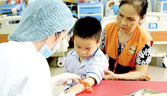 Việt Nam có hơn 12 triệu người mang gen bệnhtan máu bẩm sinh