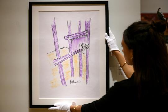 Bản vẽ cửa phòng giam của Mandela được bán với giá 112.575 đôla ở New York
