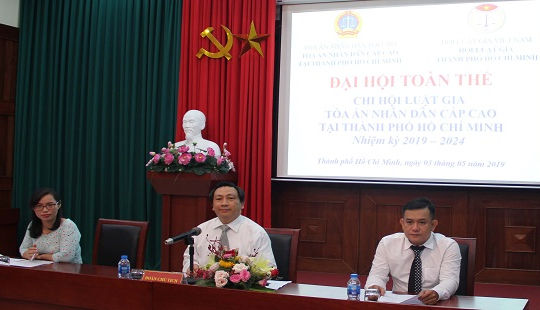Đại hội Chi hội Luật gia TAND Cấp cao tại TP HCM