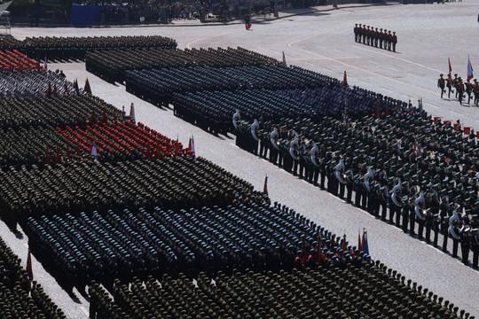 Diễu binh kỷ niệm 74 năm Chiến thắng phát xít: Hủy phần biểu diễn trên không