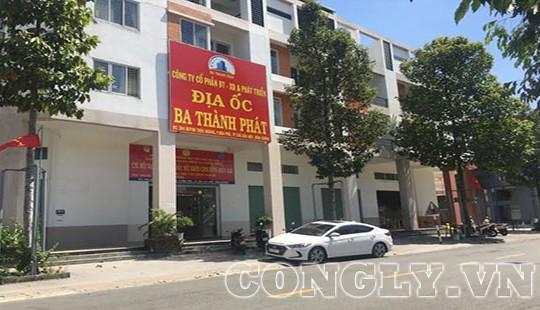 Công ty địa ốc Ba Thành Phát được chấp thuận chủ trương chuyển giao dự án trước khi thành lập?
