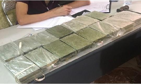 Hải Dương: Chặn bắt 30 bánh heroin từ Thái Bình về Hải Phòng
