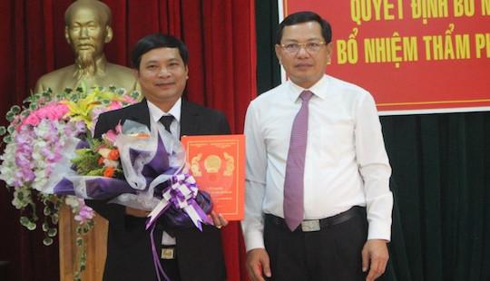 Trao Quyết định bổ nhiệm Phó Chánh án TAND tỉnh Gia Lai và các chức danh Thẩm phán