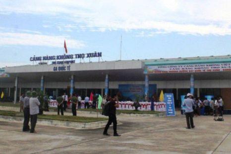 Xử phạt hành khách gây mất trật tự tại sân bay Thọ Xuân