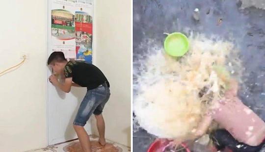 Youtuber gây phẫn nộ vì đổ 200 quả trứng lên đầu mẹ