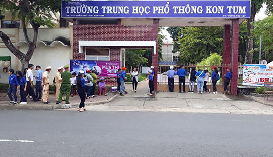 Thi THPT quốc gia năm 2019: Hàng trăm thí sinh các tỉnh Tây Nguyên không thi môn Ngữ Văn