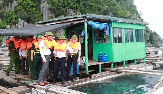Công tác ứng phó với bão số 2 tại Quảng Ninh