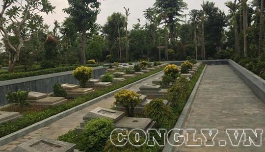Hưng Hà (Thái Bình): Hé lộ chủ nhân công viên nghĩa trang xây không phép trên đất nông nghiệp
