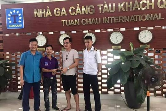 Cảng tầu khách quốc tế Tuần Châu trả lại ví tiền khách bỏ quên khi tham quan Vịnh Hạ Long