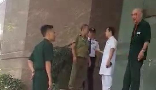 Bệnh viện 108 lên tiếng vụ bảo vệ xô xát với người nhà bệnh nhân