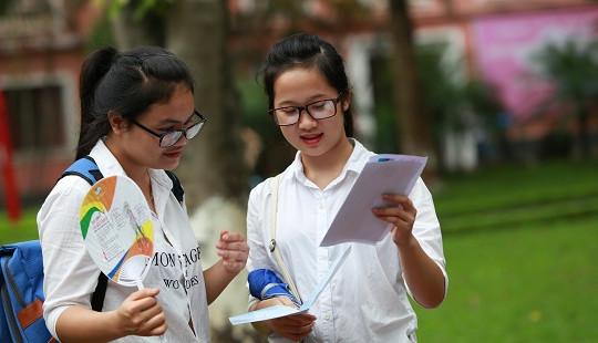 Bộ GD-ĐT công bố phổ điểm 9 môn thi của kỳ thi THPT quốc gia 2019