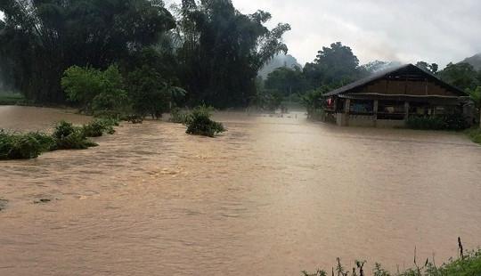 Mưa lũ gây thiệt hại nhiều tài sản tại Cao Bằng