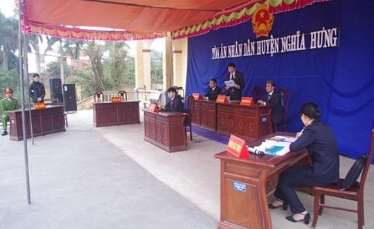TAND huyện Nghĩa Hưng, Nam Định: Quyết tâm hoàn thành tốt nhiệm vụ năm 2019