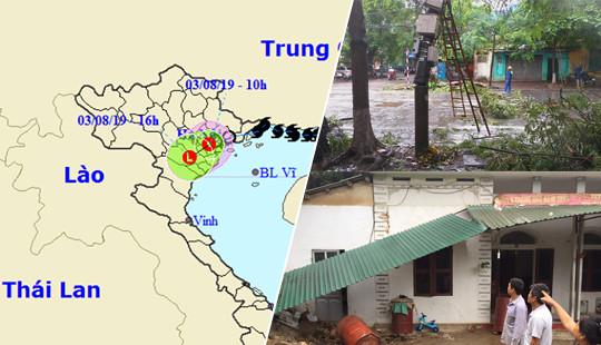 Nhiều địa phương ảnh hưởng nặng do mưa sau bão số 3