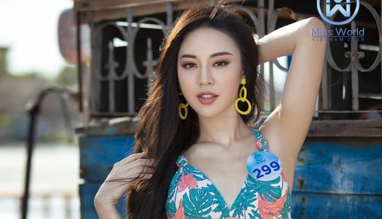 Cận cảnh nhan sắc Người đẹp được yêu thích nhất Hoa hậu Thế giới Việt Nam 2019
