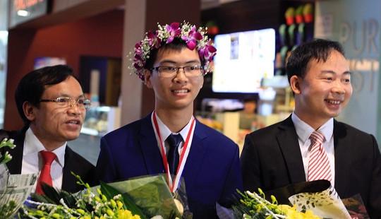 Nam sinh xứ Thanh giành Huy chương Vàng Hóa học 2019: Tiếc vì không giữ được phong độ phần thi lý thuyết