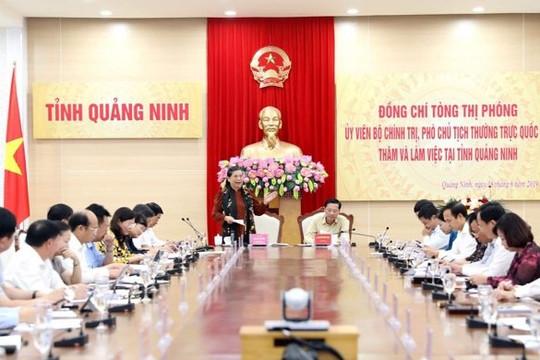 Quảng Ninh phải trở thành cực tăng trưởng mạnh vùng Đông Bắc