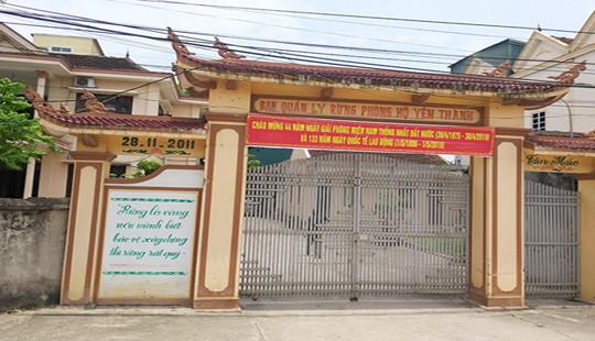 Khởi tố 2 cán bộ huyện liên quan đến đền bù đất rừng