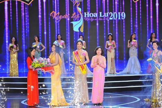 Người đẹp Hoa Lư năm 2019: Vinh danh Nguyễn Thùy Trang