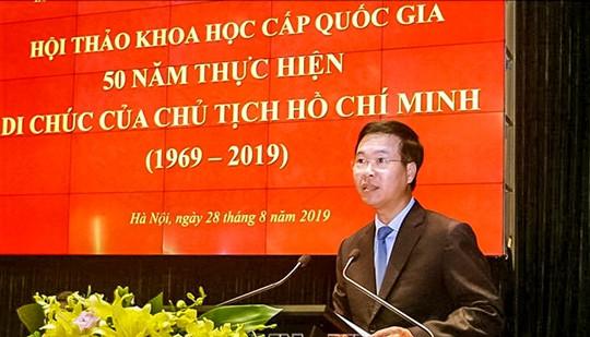Di chúc của Chủ tịch Hồ Chí Minh: Ngọn đuốc tiếp tục rọi sáng con đường cách mạng Việt Nam