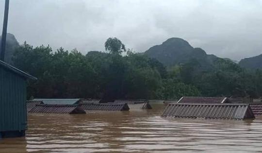 Quảng Bình: Thiệt hại nặng nề do mưa bão