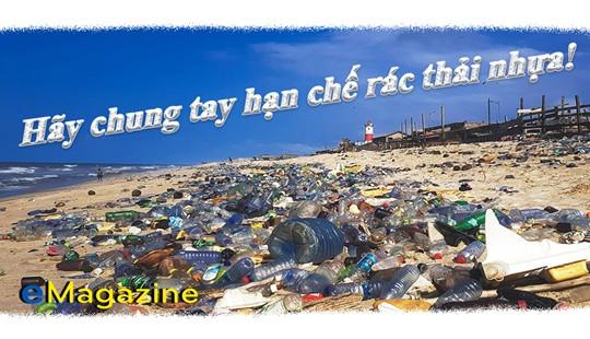 Xã hội chung tay hạn chế rác thải nhựa