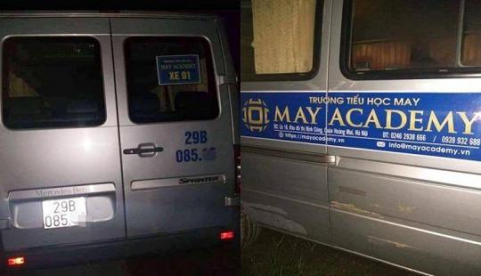 Danh tính tài xế tử vong trong ôtô đưa đón học sinh