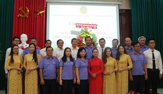TAND cấp cao tại TP HCM tổ chức  kỷ niệm 74 năm ngày truyền thống TAND