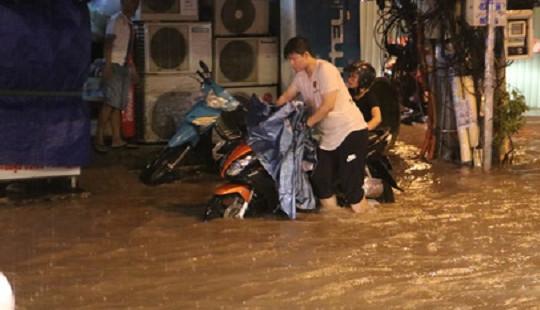 Cảnh báo mưa lớn và ngập úng ở các tỉnh Nam Trung Bộ, Tây Nguyên và Nam Bộ
