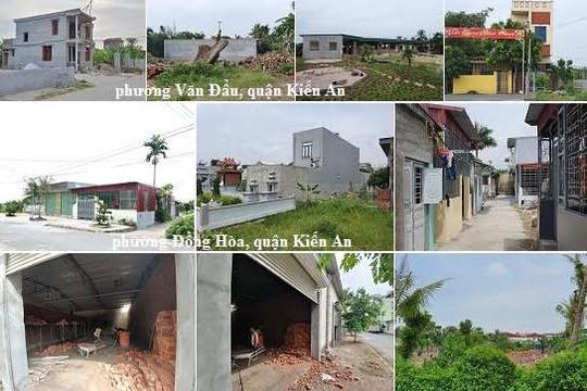 Kiến An, Hải Phòng: Nhiều vụ việc về đất đai, xây dựng... bị 'ngâm' chưa xử lý