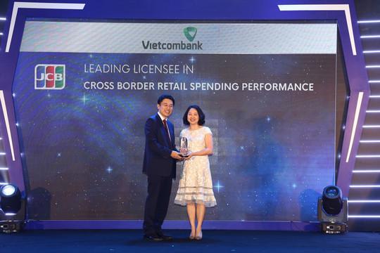 Vietcombank dẫn đầu về doanh số sử dụng và thanh toán thẻ JCB