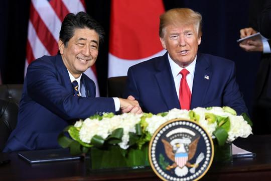 """Trump tuyên bố hoàn thành """"giai đoạn đầu tiên"""" của thỏa thuận thương mại Mỹ-Nhật"""