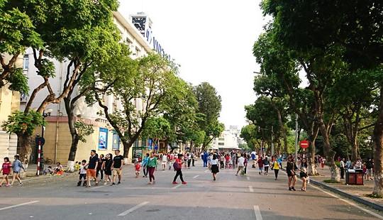 Hà Nội đề xuất cấm ô tô, xe máy hoạt động quanh hồ Hoàn Kiếm