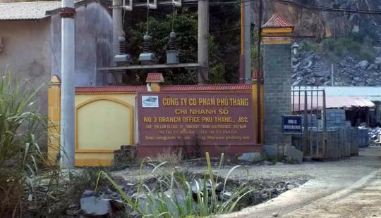 Thanh Hóa: Mất an toàn lao động tại Công ty Phú Thắng