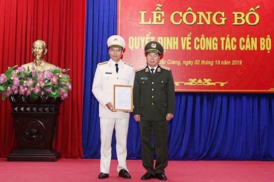 Bổ nhiệm Giám đốc Công an tỉnh Bắc Ninh và Bắc Giang