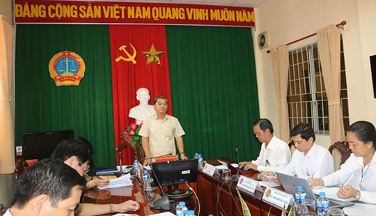 Giám sát chuyên đề thực hiện chính sách, pháp luật về xâm hại trẻ em tại TAND tỉnh An Giang