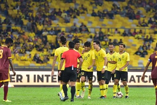 Chốt danh sách 23 cầu thủ ĐT Malaysia sang Việt Nam