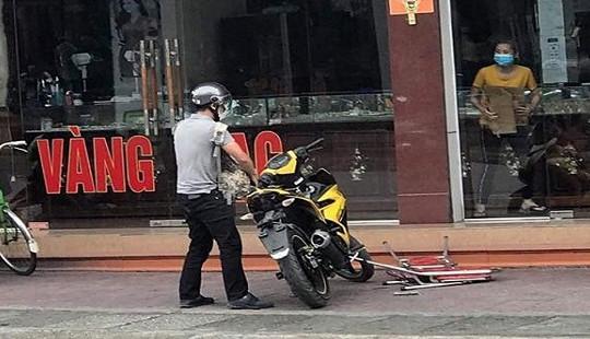 Táo tợn cướp tiệm vàng giữa ban ngày ở Quảng Ninh