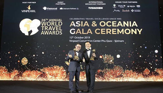 Fraser Suites Hanoi của BIM Land đoạt giải World Travel Awards 2019