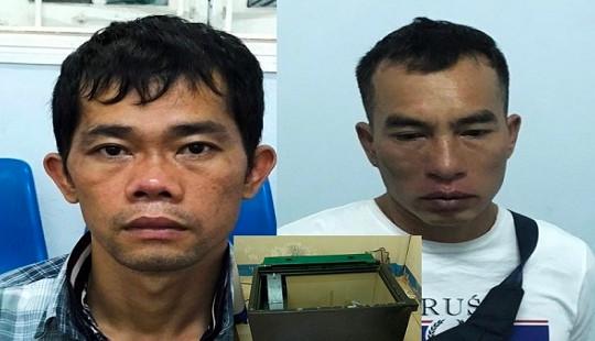 Bắt 2 người nước ngoài phá hàng loạt két sắt, trộm tiền tỷ