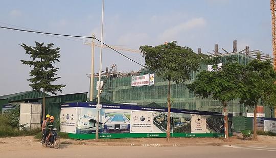 Đình chỉ thi công công trình Trung tâm Văn hóa xứ Đông làm nhiều người bị thương